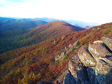 Rolling hills and vast valley floors are just a couple of the many different natural attractions in Shenandoah