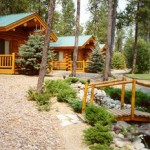 Log Chalets at Silver Wolf Log Chalet